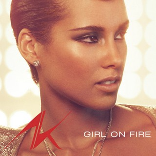 Girl On Fire (Bluelight Version)  (ALICIA KEYS) - Backing Track